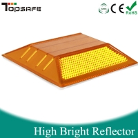 New integrated traffic reflective road stud