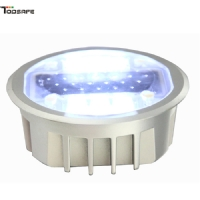 SGS&CE Solar led embedded road stud with factory price